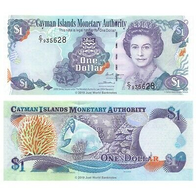 Cayman Islands $1 Dollar 2006 P-33b  UNC