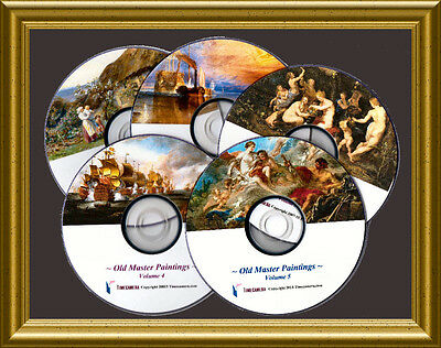 MAKE & SELL OLD MASTERS ART PRINTS - Giant Business Package - RESTORED IMAGES