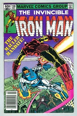 Iron Man #156 March 1982 FN-