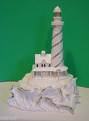 LENOX SPIRIT of the SEA LIGHTHOUSE sculpture NEW in BOX
