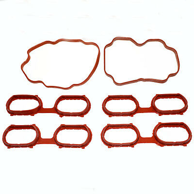 6PCS Intake Engine Manifold Cover Gaskets for BMW 740i 740iL 540i X5 11611433328