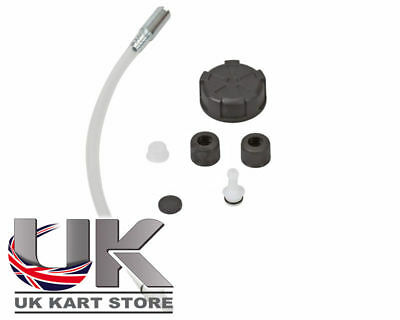 Fuel Tank Black Connection Kit UK KART STORE