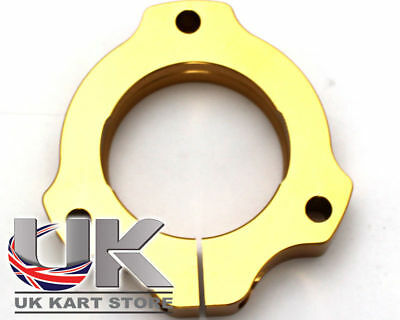 Bearing Carrier 30mm Adj Gold UK KART STORE