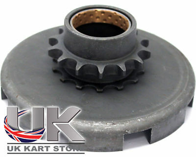 Aftermarket Honda GX160 / GX200 Wet Clutch Basket / Drive Sprocket UK KART STORE