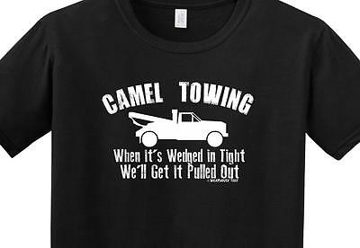 0938f931 Camel Towing T Shirt Tee Funny Toe Skater Redneck Country Frat College All  Sizes