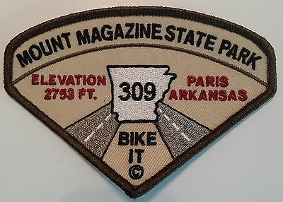 Mount Magazine Arkansas State Park  Motorcycle Bike It Patch!