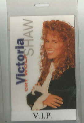 Victoria Shaw VIP Cry Wolf Laminate Pass