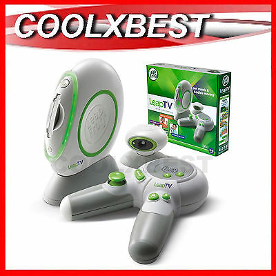 New Leap Frog Leaptv Educational Tv Video Game Console System Motion Sensing