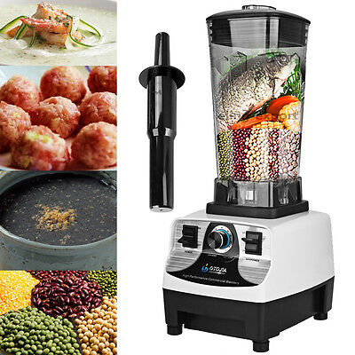 2L Multi-functional 1500W Smoothie Electric Blender Ice Food Processor Mixer