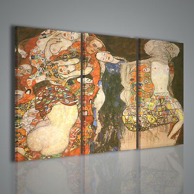 Quadro Moderno Gustav Klimt The Bride Unfinished  Quadri Moderni Pittori Famosi