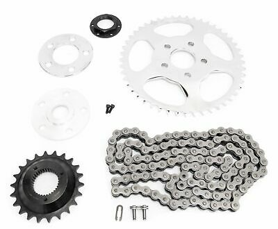 Chain Drive Transmission Sprocket Conversion Kit Harley Sportster 2000 - 2017 XL