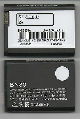 LOT OF 4 NEW BATTERY FOR MOTOROLA BN80 BACKFLIP i886