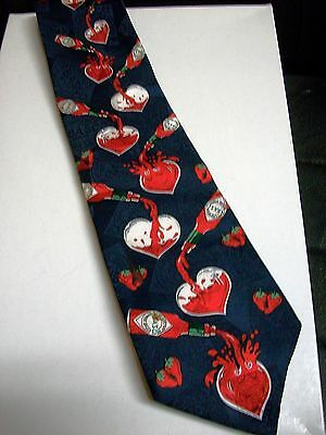 Tabasco lovers heart Tie