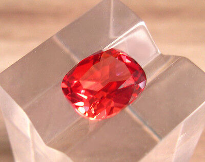 SUPERBE SAPHIR VERNEUIL PADPARADSCHA 8X10 mm.IF