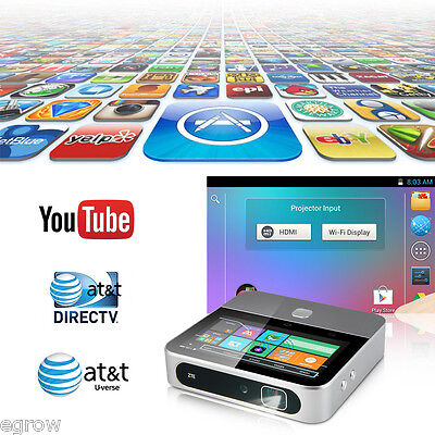 """ZTE SPRO 2 Mini 5.0"""" WIFI Proyector HD Android 4.4 Quad Core HDMI MHL PC TV DLP"""