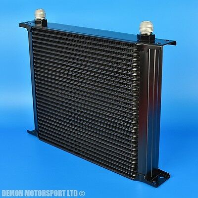 30 Row Oil Cooler Black AN10 Fittings Alloy For Race Rally Trackday (Clearance)