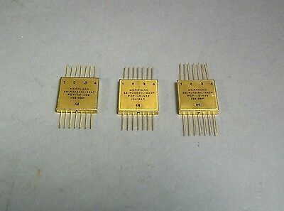Merrimac PDF-4E-400/59189P Gold Microwave Power Divider Lot of 3 - New