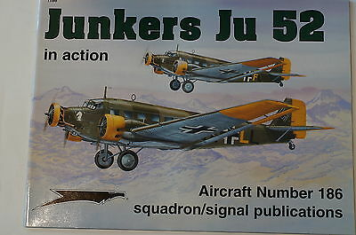 WW1 German Junkers Ju 52 Aircraft No.186 Squadron Signal Reference Book