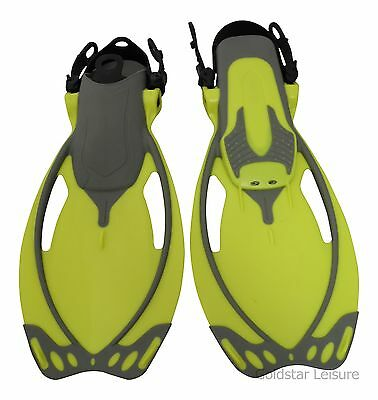 Body Glove Kids Junior Reach Fins Scuba Diving Swimming UK 9 - 12 & UK 13 - 4.5