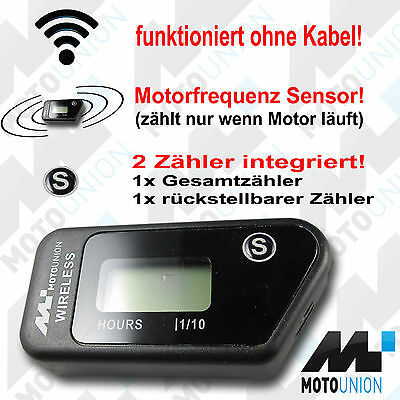 Hour meter wireless vibration Excavator Wheel loader Frontloader Bobcat NEW