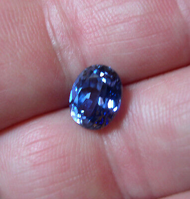SUPERBE TANZANITE VERNEUIL taille OVALE 10x8mm...IF