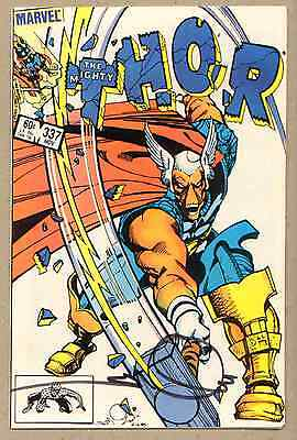 The Mighty Thor #337 - Signed Simonson - 1983 (Grade 8.0) WH