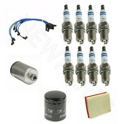 For Land Rover Discovery II Tune Up Kit Oil-Air-Fuel-Filters-Spark Plugs-Hose