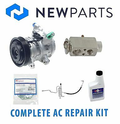 For Jeep Grand Cherokee 4.7L 02-04 Complete A/C Repair Kit Compressor w/ Clutch
