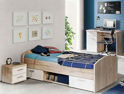 roller bett rondino sandeiche wei 140x200 cm eur 279 99 picclick de. Black Bedroom Furniture Sets. Home Design Ideas