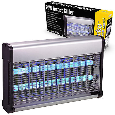 20W UV Electric Insect Killer Fly Catcher Bug Zapper Industrial Restaurant Cafe
