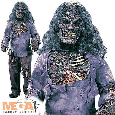 Boys Complete Zombie Kids Halloween Fancy Dress Childrens Childs Horror Costume