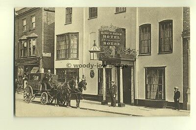 tp4194 - Essex - Maldon - The King's Head Hotel with Own Stagecoach  - Postcard