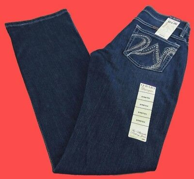 Womens Wrangler Q-BABY Boot Cut Mid-Rise Stretch Jeans WRQ20FM Choose Size