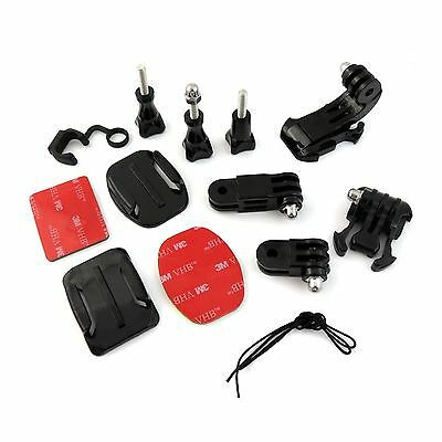 Grab Bag of Mounts Set Kit For GoPro Hero 2 3 3+ 4 Session HD Camera Accessories
