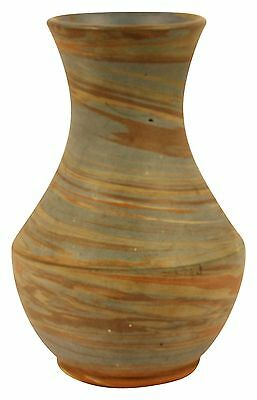 Niloak Pottery Mission Swirl Hourglass Shaped Vase