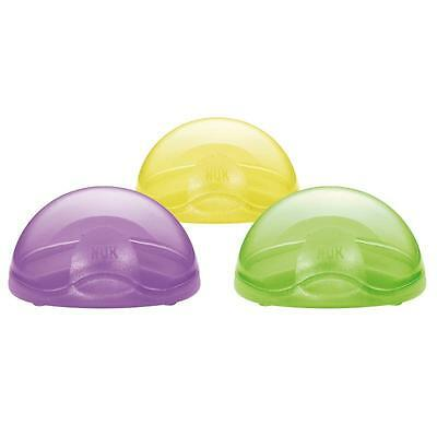 NUK Baby Soother Pacifier Dummy Travel Storage Box Case Holder 0m+