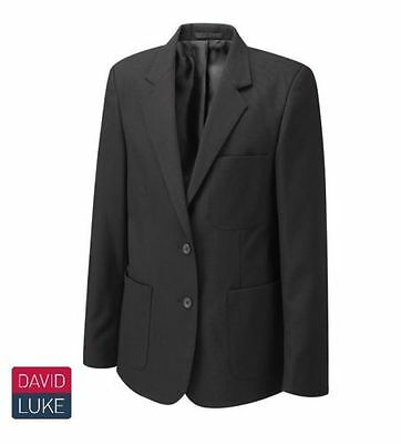 David Luke Eco Range Premier School Blazer Black Girls Ladies Fancy Dress