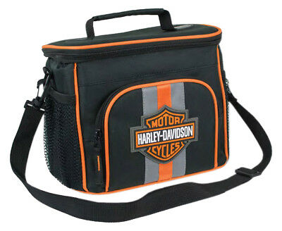 Harley-Davidson Bar & Shield Insulated Lunch Tote, Shoulder Strap, Black 7180537