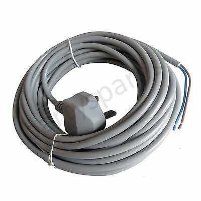 Mains Cable Power Lead & Plug for Sebo Upright Vacuum Cleaners 10m  x1 x4 felix
