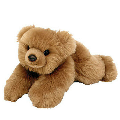 TY Classic Plush - BABY PAWS the Bear ( Maple - 12 inch ) -MWMT's Stuffed Animal