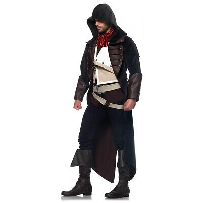 Assassins Creed Costume Adult Arno Dorian Halloween Fancy Dress