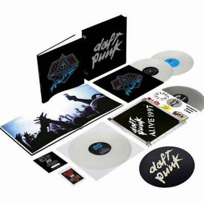 Daft Punk - Box Alive 2007 / Alive 1997 NEW LP