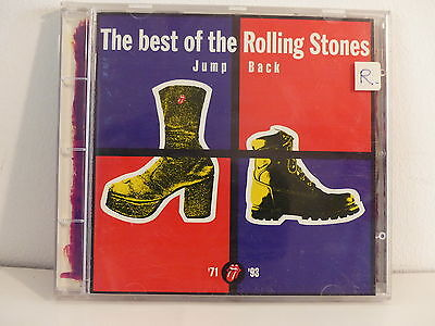 CD ALBUM The best of the ROLLING STONES Jump back 71 93  CDV 2726 7243 8 39321 2