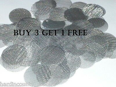 """10 pcs 1/2"""" STAINLESS STEEL PIPE BOWL VAPE SCREENS FAST FREE SHIPPING USA"""