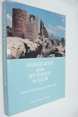 Anasazi Ruins of the Southwest in Color Book by Ferguson & Rohn 1988