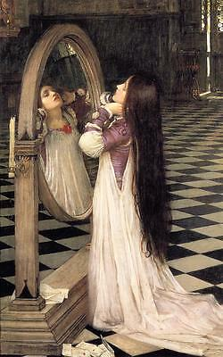 John William Waterhouse Mariana in the South Giclee Canvas Print