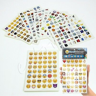 Emoji Sticker Pack 912 Die Cut Stickers for iPhone, Instagram & Twitter Fashion