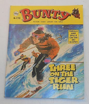 #238 Bunty Picture Library - THREE ON THE TIGER RUN - 1983