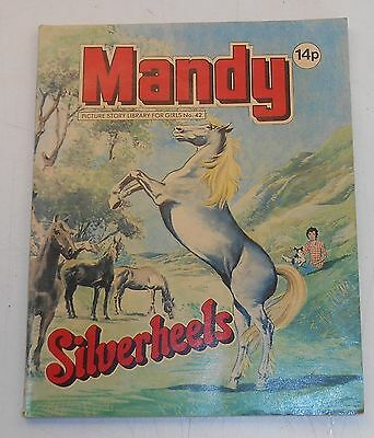 #42 Mandy Picture Library - SILVERHEELS - 1981
