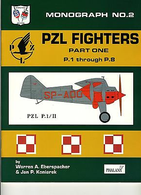 (E2F) PZL FIGHTERS Part One P.1 through P.8 / Monograph N°2